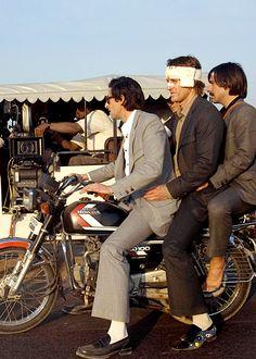 Adrien Brody, Owen Wilson and Jason Schwartzman in The Darjeeling Limited