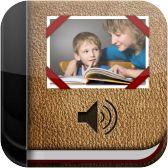 App para crear historias y libros visuales y con voz. Cada página puede contener una foto, un vídeo y texto, así como un clip de audio grabado o texto a voz basado en voces naturales. Opciones para compartir contenidos.