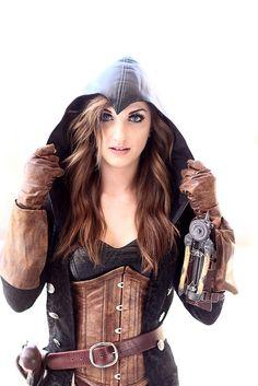 Steampunk Assassin - Krash Cosplay 2015 Amazing Arizona Comic Con