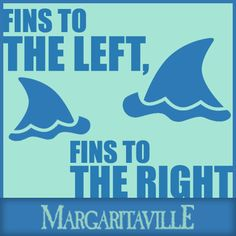 Fins to the left....Fins to the right!