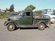 1936 Chevrolet 1/2 ton pick up. Nice survivor.