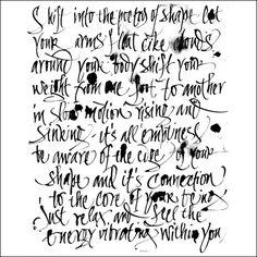 #Calligraphy and art Monica Dengo | Calligrafia titoli, scrittura a mano