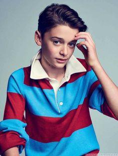 Male Fashion Trends: El pequeño gran Noah Schnapp para L'Officiel Hommes Paris por Eric Ray Davidson #FashionTrends #FashionTrendsMagazine