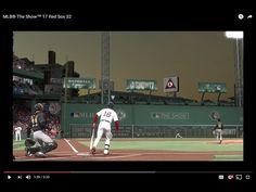 MLB® The Show™ 17 Red Sox 32, Benintendi Green Monster Foul Pole HR