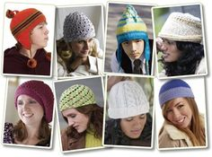 """""""You can't have too many hats. As my outdoors-loving husband likes to remind me, a warm head makes for a happy hiker. Keep your head warm and your whole body stays much warmer. With this rerelease of our popular hat eBook, we've added two patterns for a total of eight crochet hat patterns to keep everyone in the family stylishly warm and happy."""""""