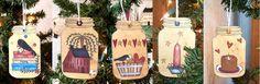 Shoregirl's Creations: Primitive Ornaments