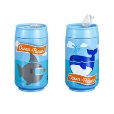 Water bottles made to look like soda cans