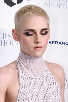 "Kristen Stewart Photos Photos - Actress Kristen Stewart, make-up detail, attends the ""Personal Shopper"" premiere at Metrograph on March 9, 2017 in New York City. - 'Personal Shopper' New York Premiere"