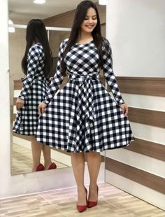 *Nia Attractive Women's Dresses* Price : Rs 499 only Fabric: Crepe Sleeve Length: Three-Quarter Sleeves Pattern: Variable Sizes: S, XL, L, M, XXL Western Dresses For Women, Elegant Dresses For Women, Ribbed Knit Dress, Mode Hijab, Latest Dress, African Dress, Look Fashion, Anarkali, Designer Dresses