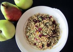 Raw Buckwheat Granola - Liver Cleansing Diet Recipes For A Healthy Liver