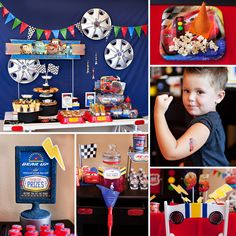 KA-CHOW! A Disney Pixar Cars Birthday Party with Ramone's Temporary Tattoo Station, Cozy Cone Cakes, Fillmore's Organic Fuel and more Lightning McQueen + Radiator Springs inspiration! #DisneyCars #LightningMcQueen #Birthday hwtm.me/17tkVNI