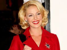 Katherine Heigl in Red