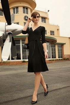 Brands Sacha Drake 2 Reversible Wrap Dress Images - Birdsnest Fashion brands including Gordon Smith, Just Add Sugar, Lesley Lee, and many Casual Outfits, Fashion Outfits, Casual Clothes, Dress Casual, Winter Clothes, Maternity Wear, Maternity Dresses, Drake Clothing, Funeral Dress