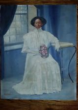 Dealer or Reseller Listed Art Oil Paintings Vintage Art, Vintage Paintings, Black African American, Art Oil, Victorian, Antiques, Music, Antiquities, Antique