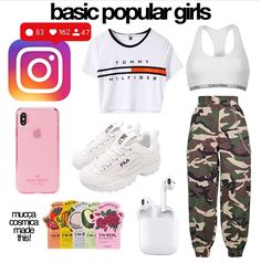 Cute Easy Outfits For School, Simple Outfits, Cool Outfits, Teenage Girl Outfits, Teen Fashion Outfits, Outfits For Teens, Girl Life Hacks, Girls Life, Aesthetic Fashion