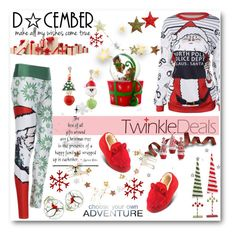 """""""twinkledeals"""" by biljana-miric-ex-tomic ❤ liked on Polyvore featuring Disney, Ana Accessories, Winter, Christmas, comfy, cozyfashion and twinkledeals"""