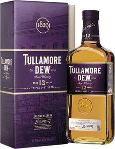 Nouveau packaging exclusif 2015. Tullamore 12 ans. Un whiskey profond et complexe unanimement applaudi par les connaisseurs de whisky à travers le monde.