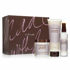 Natural Hair Care, Natural Beauty Products, Natural Skincare - Carol's Daughter - Lavender & Vanilla Body & Bath Valentine's Set #perfectperfected