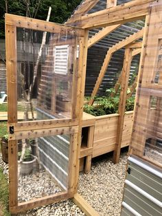 Diy Greenhouse Plans, Backyard Greenhouse, Raised Garden Beds, Raised Beds, Farm Gardens, Outdoor Gardens, Permaculture, Organic Compost, Landscaping Supplies