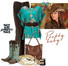 """""""When I wear my boots I feel Pretty!"""" by jbet123 ❤ liked on Polyvore"""