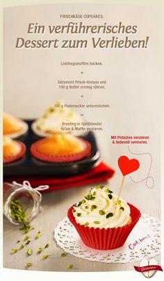 Lass Dich von den Rezept- und Genuss-Tipps aus dem Géramont Glückskäse verführen! Unser Géramont Frisch-Genuss kann ganz einfach als Topping für Deine Lieblingsmuffins zubereitet werden. #cestbon