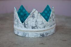 Fabric Crown - Prince/Princess Francis