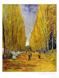 The Elysian Fields, c.1888 Posters by Vincent van Gogh at AllPosters.com