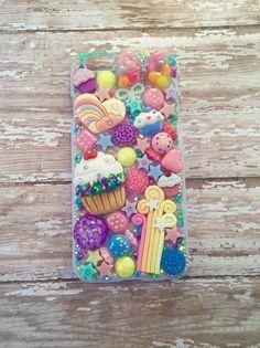 Custom phone case Iphone 6 case Decoden case by GlitterAndFrost