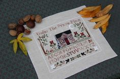 Prairie Sampler, Little House Needleworks.