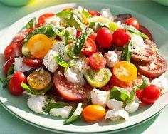 tomato medley with bocconcini