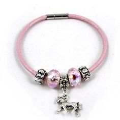 European Style Horse Charm Bracelet - Leather : Horse Gifts and Jewellery European Style, European Fashion, Horse Gifts, Horse Stalls, Silver Plate, Charmed, Australia, Horses, Jewellery