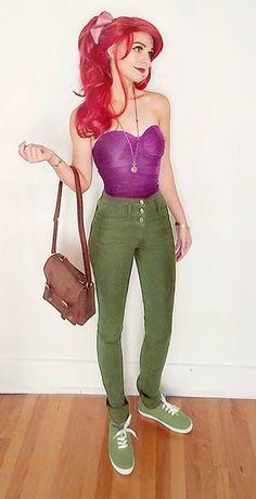 27 Ways to Dress Like Ariel This Halloween
