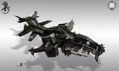helldiver aries gunboat final by StTheo.deviantart.com on @deviantART