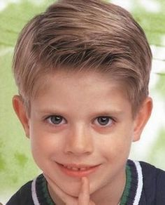 Fryzury dla chłopców 6 lat