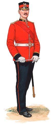 British; 2nd Bn The Queen's Royal (West Surrey)Regiment. Bandmaster,India. 1881.