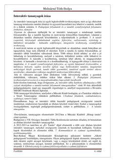 Molnárné Tóth Ibolya Szakmai önéletrajz | PDF to Flipbook Word Search