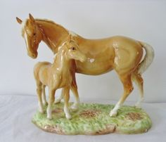 Aspiring Vintage Beswick Brown Shire Horse Pottery