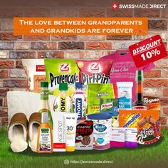 """Shop for grandparents' day gifts online from Swissmade Direct. Show your love and gratitude to your #grandparents by ordering and sending the best Swiss-made grandparent's day #gift at a discounted price. Use our coupon code """"GRANDPARENTS10"""" to avail the limited time #discount. The offer is valid until September 14th."""