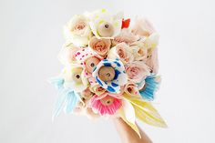 ohdeardrea: A Canvas & Wood (Wedding) Flower Bouquet How To / DIY