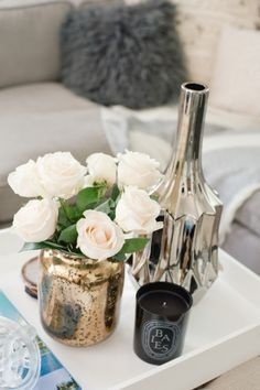 Coffee Table || LA home tour: http://www.stylemepretty.com/living/2014/07/28/los-angeles-home-tour/