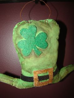 Country Primitive St Patrick's Day by CrazyDaisysCreations on Etsy
