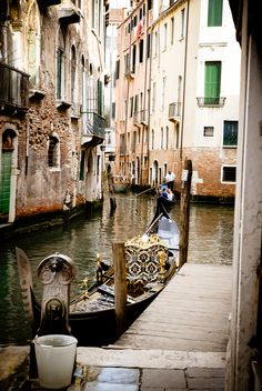 Take a boat through the Canals in , Venice, Italy