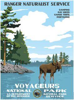 Voyageurs National Park Poster - Ford Craftsman Studios