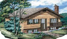 Contemporary-Modern House Plan with 1102 Square Feet and 3 Bedrooms from Dream Home Source | House Plan Code DHSW35603