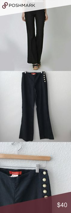 Anthropologie Cartonnier Linen Button Pants Sz 2 Beautiful Cartonnier Linen pants purchased at Anthropologie. These were worn once and are in perfect condition. Size is 2. Sorry no holds or trades. I will be adding much more to my closet, thank you for stopping by. 💗 Anthropologie Pants Boot Cut & Flare