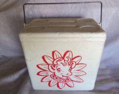 Vintage Borden's Elsie the Cow Styrofoam Cooler