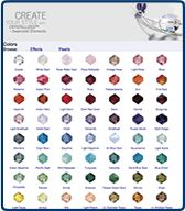 Shipwreck Beads shows you with one click all the Swarovski elements they have for sale in a particular color.--Shopping for sensational SWAROVSKI ELEMENTS just got simpler! Shop all Swarovski shapes, styles and sizes in every one of these splendid shades!
