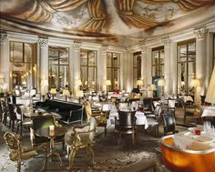 Le Meurice | Paris (1e) - The restaurant by Alain Ducasse and designed by Philippe Starck