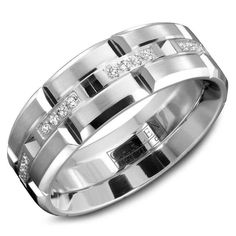 Find the best wedding rings for men and women at CrownRing. Shop our masterfully designed and modishly brilliant matrimony jewelry for men and women. Mens Diamond Wedding Bands, Cool Wedding Rings, Wedding Men, Dream Wedding, Wedding Ideas, Wedding Stuff, High Jewelry, Jewellery, Gold Jewelry