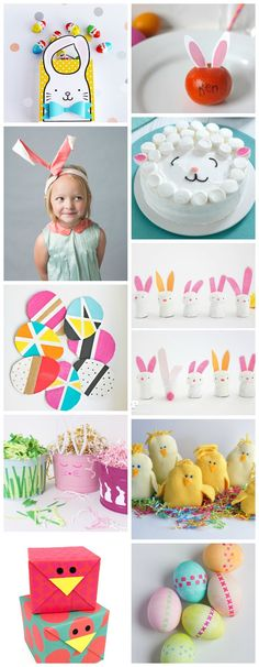 The absolute cutest Easter crafts, projects and ideas for kids around. I love every single one of these!